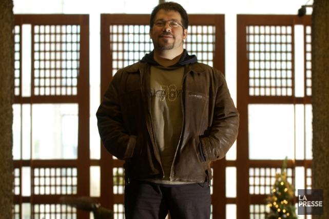 Philippe Delaby à Montréal en 2005.... (Photo: Bernard Brault, archives La Presse)