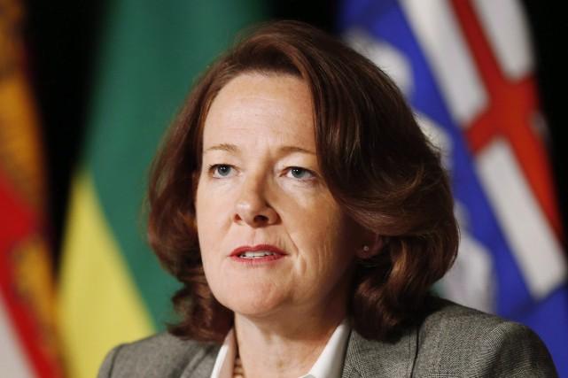 La première ministre de l'Alberta,Alison Redford... (PHOTO MARK BLINCH, ARCHIVES LA PRESSE CANADIENNE)