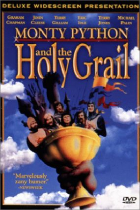 Monty python sacr graal for Holy grail farcical aquatic ceremony