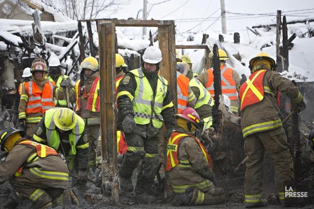 Le regroupement des petits services d'incendie est nécessaire,... (Photo Patrick Sanfaçon, La Presse)