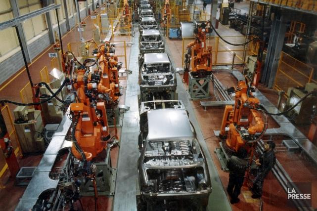 L'usine a été construite en 1987-1988 au coût... (Photo Jean Goupil, archives La Presse)