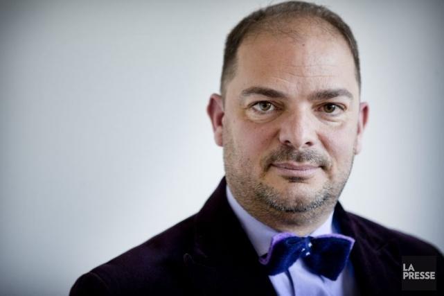 Le nouveau président du Conseil des arts et... (Photo: Marco Campanozzi, La Presse)