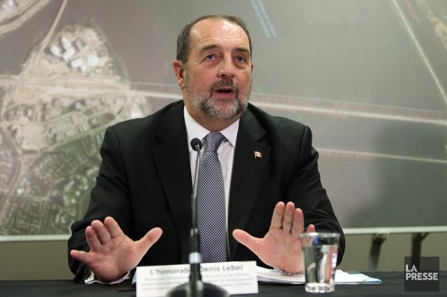 Le ministre des Affaires intergouvernementales, Denis Lebel.... (Photothèque La Presse)