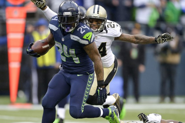 Marshawn Lynch... (Photo Ted S. Warren, Associated Press)