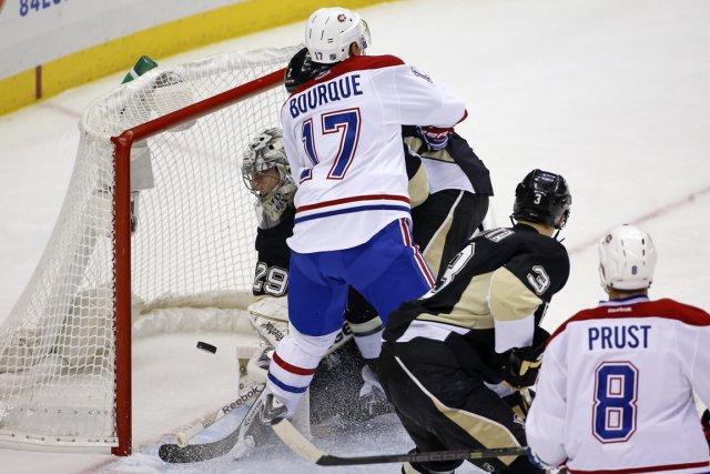 Rene Bourque croit avoir développé une complicité avec... (Photo Gene J. Puskar, Associated Press)