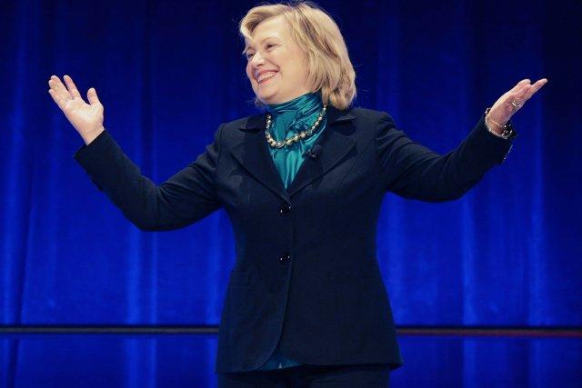 Cet écart entre Hillary Clinton et ses possibles... (PHOTO GERALD HERBERT, AP)