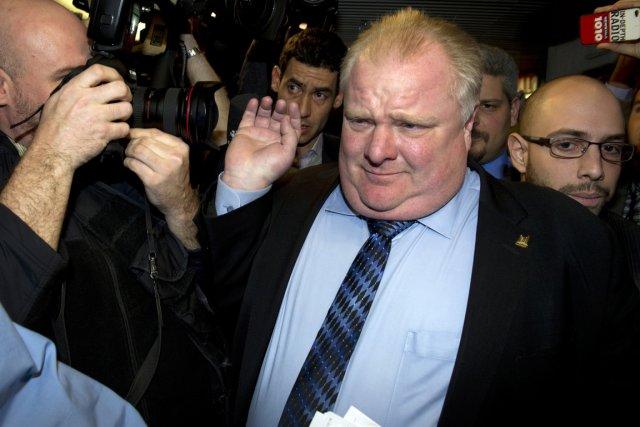 Le maire de Toronto, Rob Ford.... (Photo Frank Gunn, PC)