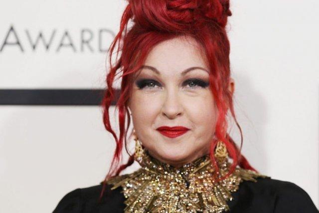 Cyndi Lauper lors des Grammy le 26 janvier... (Photo: Reuters)