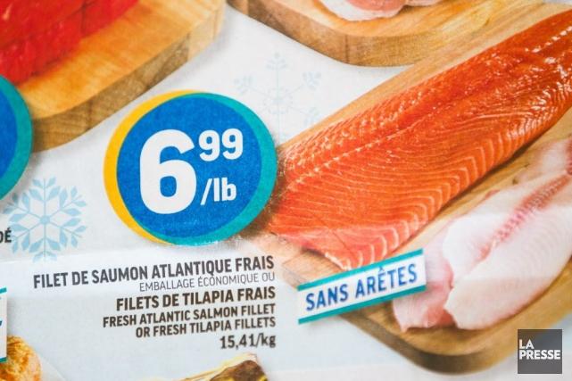 76% des consommateurs de saumon de Montréal pensent... (PHOTO EDOUARD PLANTE-FRECHETTE, LA PRESSE)