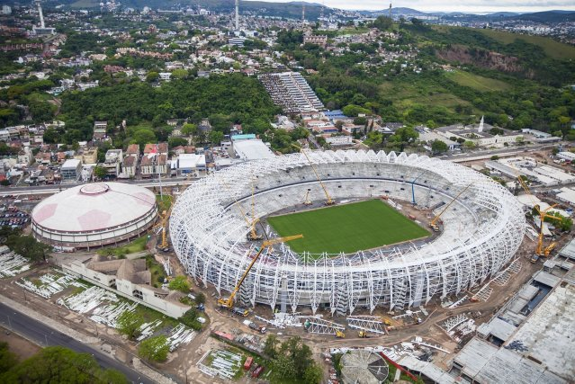 Le stade Beira-Rio... (Photo Associated Press)