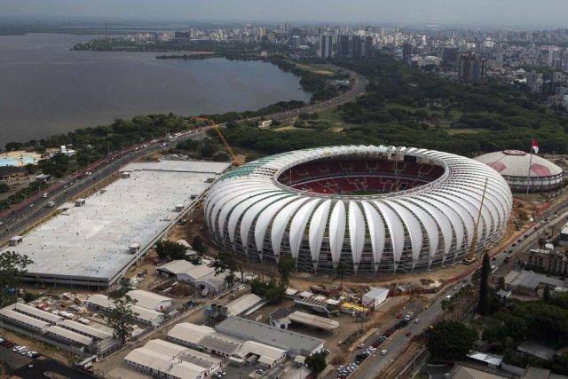 Le stade Beira-Rio... (Photo Reuters)