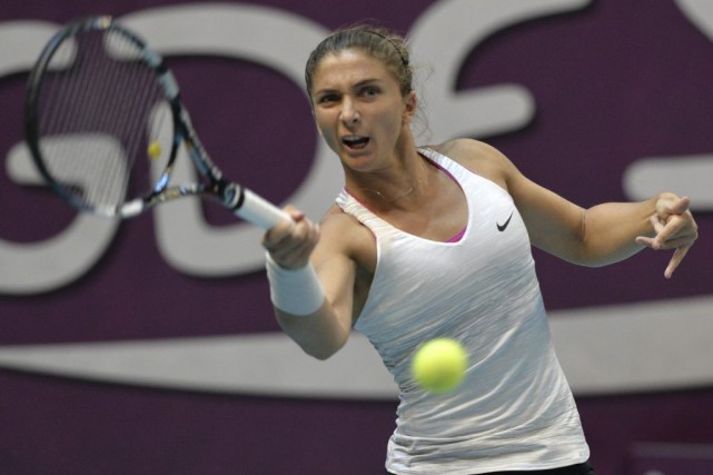 Sara Errani... (Photo Miguel Medina, archives Agence France-Presse)