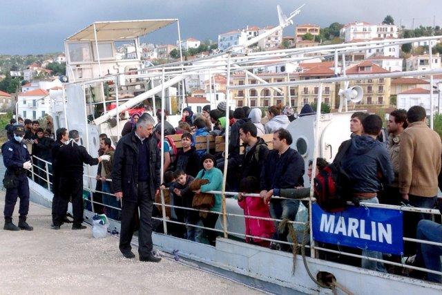 La Grèce est l'une des portes d'entrée de... (PHOTO ARCHIVES AFP)