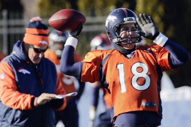 Le coordonnateur offensif des Broncos de Denver Adam... (Photo Ray Stubblebine, Reuters)