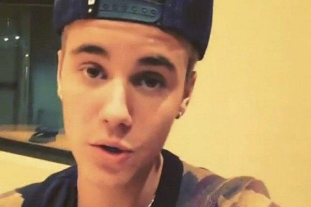Justin Bieber dans le clip publié sur Instagram.... (Photo: La Presse Canadienne)