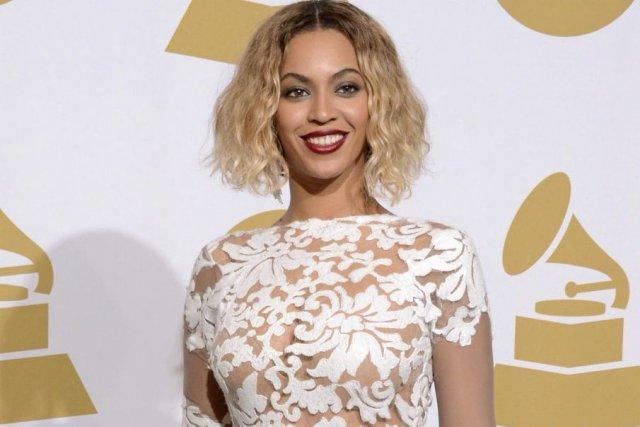 Beyoncé lors de la cérémonie des Grammy.... (Photo: AP)