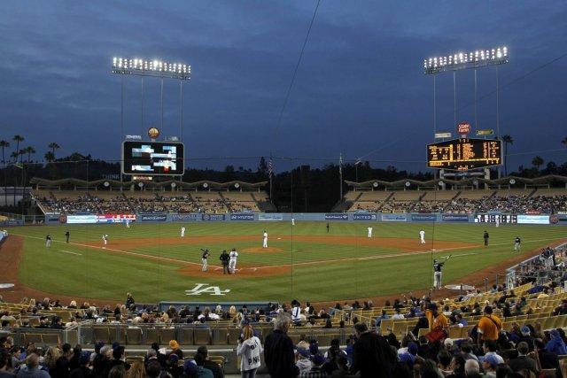 Le Dodgers Stadium... (Photo: AP)