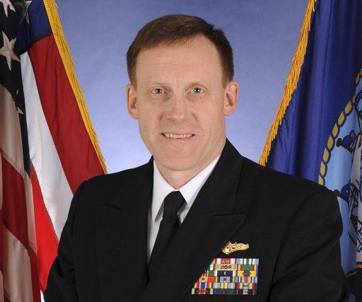Le vice-amiral Michael Rogers.... (Photo AP)