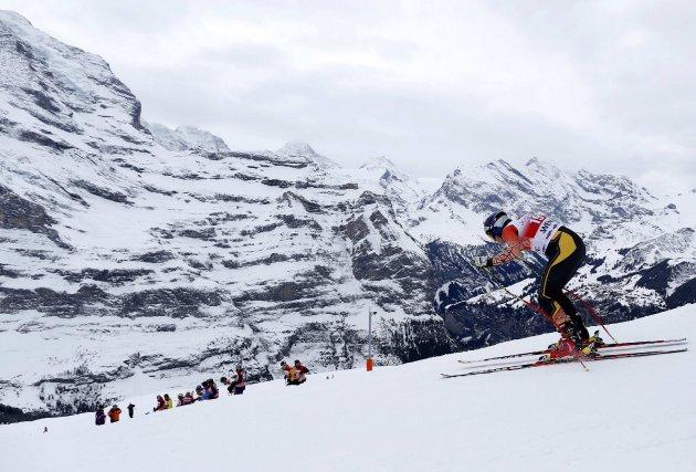 Erik Guay représente un bel espoir de médaille... (Photo Ruben Sprich, Reuters)