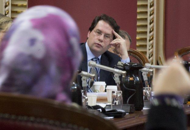 Le ministre Bernard Drainville, instigateur du projet de... (Photo Jacques Boissinot, La Presse Canadienne)