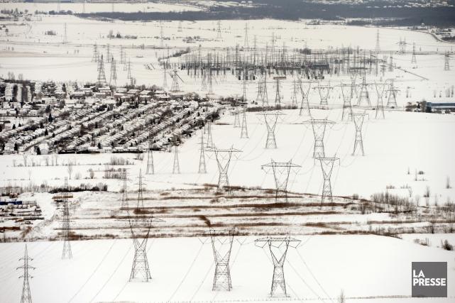 Les vagues de froid qui ont frappé le Nord-Est américain en ce début d'année... (Photo Bernard Brault, archives La Presse)