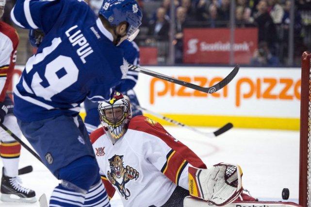 Les Maple Leafs de Toronto ont égalé un sommet cette saison, jeudi, en signant... (Photo PC)