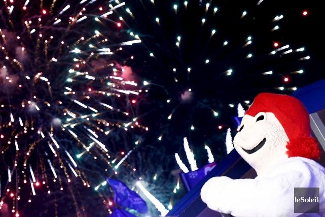 Jusqu'au 16 février, le Carnaval proposera de nombreuses... (Photo Yan Doublet, Archives Le Soleil)