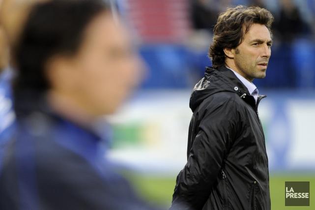 Le directeur sportif de l'Impact Nick De Santis... (Photo Bernard Brault, La Presse)