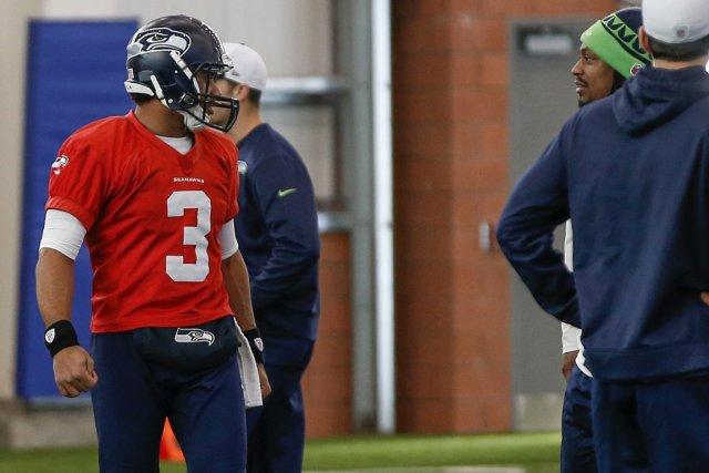 L'attaque des Seahawks fonctionne au rythme du quart-arrière... (Photo Shannon Stapleton, Reuters)