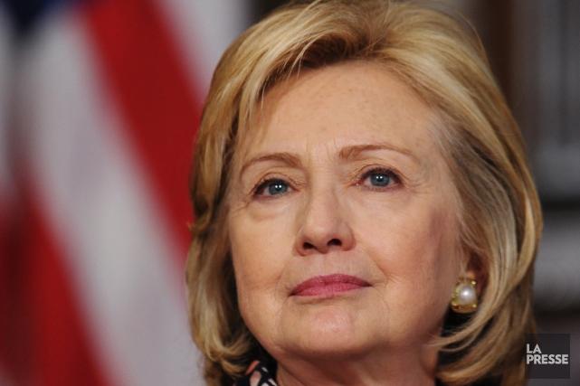 HillaryClinton... (PHOTO MANDEL NGAN, AGENCE FRANCE PRESSE)