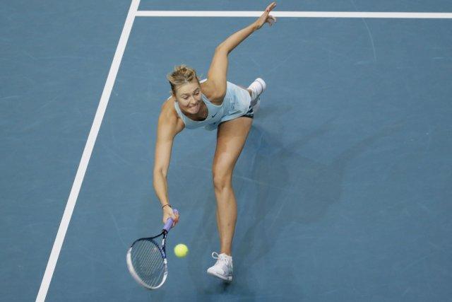 Maria Sharapova... (Photo Kenzo Tribouillard, AFP)