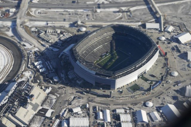 Le stade MetLife à East Rutherford, au New... (Photo Associated Press)