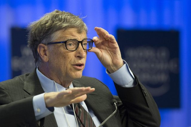 Bill Gates pourrait assister en tant que conseiller... (Photo Jean-Christophe Bott, AP/Keystone)