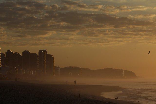 Le réchauffement anormal des eaux de l'Atlantique sud en cet été austral a... (Photo Reuters)
