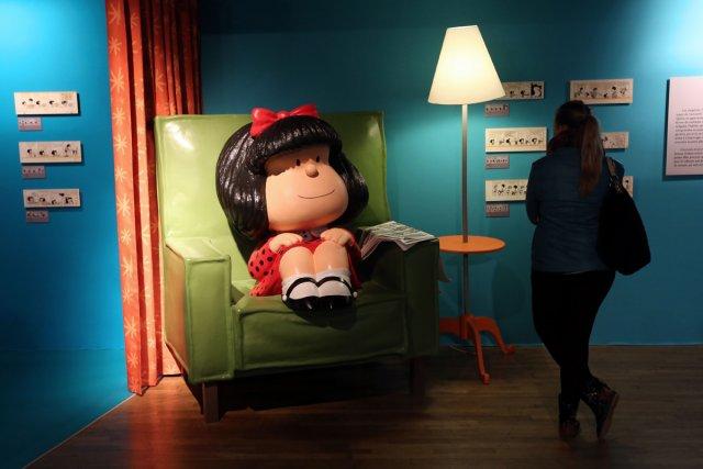 L'anniversaire de Mafalda et les 60 ans de... (Photo: AFP)