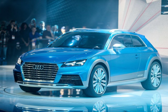 L'Audi Allroad Shooting Brake... (Photo Geoff Robins, AFP)