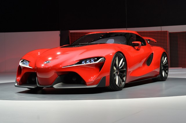 La Toyota FT-1... (Photo Stan HONDA, AFP)