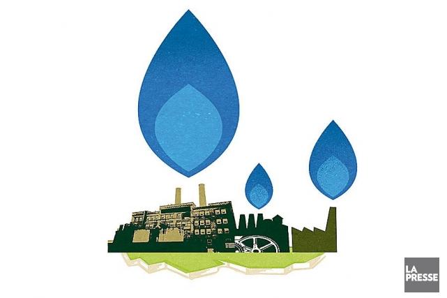 TGP est le plus important exportateur de gaz... (Illustration Philippe Tardif, Archives La Presse)