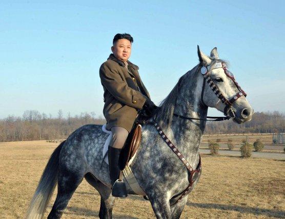 La dynastie des Kim en Corée du Nord... (Photo archives Agence France-Presse/KCNA/KNS)