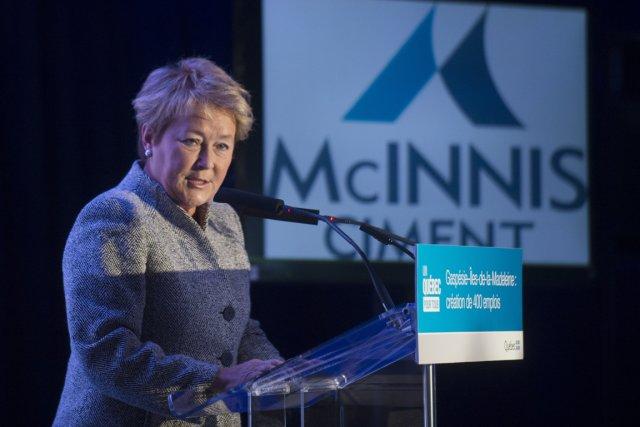 Pauline Marois a annoncé hier que Québec accorderait... (Photo Graham Hughes, PC)