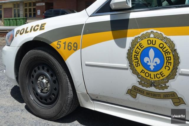 Un accident de la route a fait une victime, vendredi soir, à L'Ile-d'Orléans,... (Photo Maxime Sauvage, archives La Voix de l'Est)