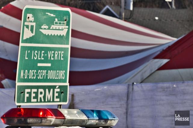 La Sûreté du Québec envisage de porter des accusations criminelles dans son... (PHOTO OLIVIER JEAN, LA PRESSE)