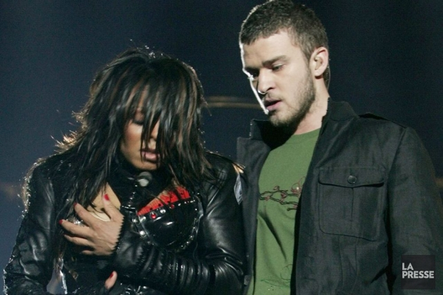 Comment oublier le Nipplegate, où Justin Timberlake a... (Photo Archives La Presse)