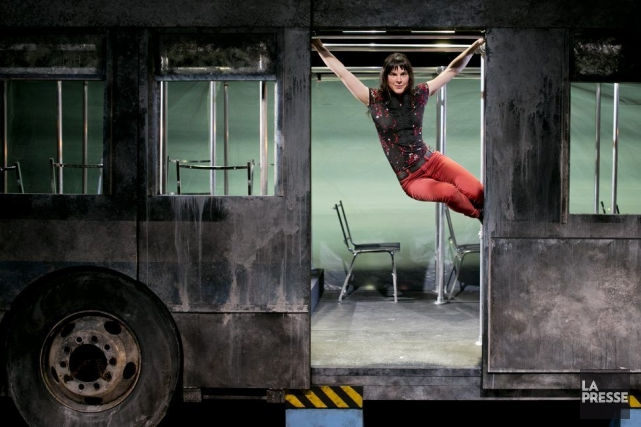 La metteur en scène Marilyn Perreault.... (PHOTO MARCO CAMPANOZZI, LA PRESSE)