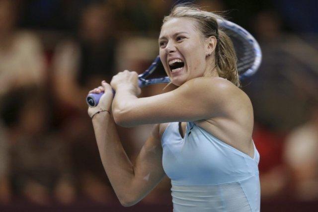 Maria Sharapova a causé sa perte avec des... (PHOTO KENZO TRIBOUILLARD, AFP)