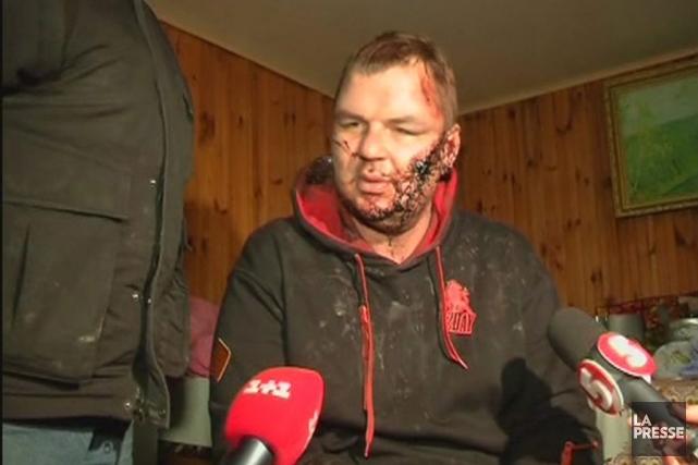 Dmytro Boulatov a déclaré avoir été enlevé le... (PHOTO REUTERS)