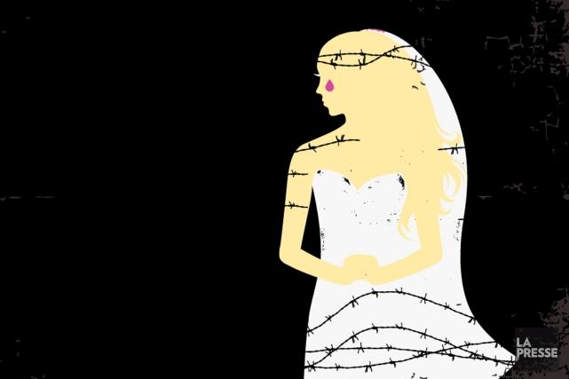 Pour les victimes de violences liées à l'honneur, le salut est au bout du fil.... (ILLUSTRATION LA PRESSE)