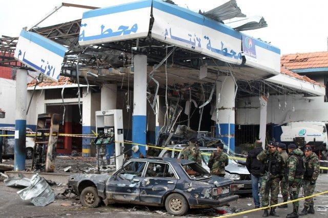 Ces raids sont intervenus au lendemain de la... (Photo AFP)