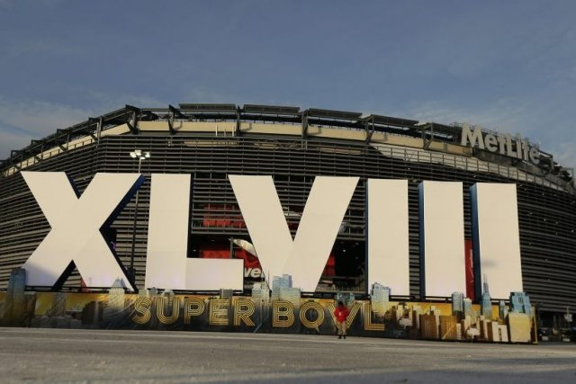 Le MetLife Stadium, à East Ruthoford (New Jersey),... (PHOTO CHARLIE RIEDEL, AP)