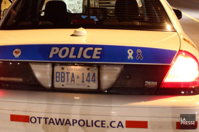 Un juge de la Cour supérieure de l'Ontario a égratigné un policier d'Ottawa,... (ARCHIVES)